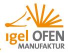igel OFEN - Partner von LINKE OFENBAU
