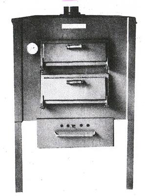 Ausführung als 2-Etagen Ofen